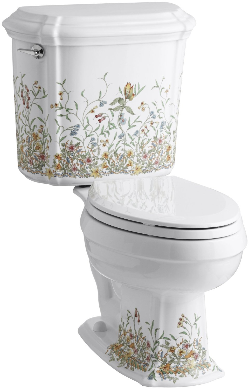Brilliant Kohler English Trellis Design Portrait Toilet Review Dailytribune Chair Design For Home Dailytribuneorg