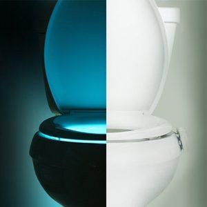 best toilet seat night light
