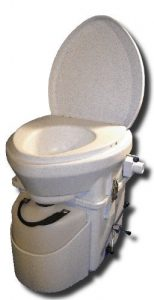 natures head dry composting toilet