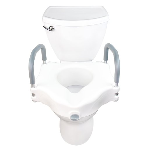 Awe Inspiring Best Raised Toilet Seat With Arms Reviews Toilet Review Guide Caraccident5 Cool Chair Designs And Ideas Caraccident5Info